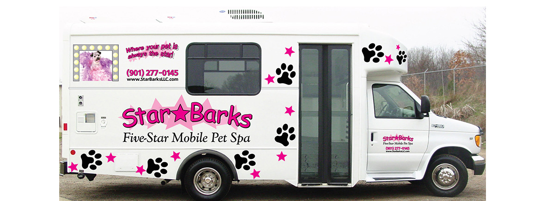 Mobile pet for 5 star mobile salon